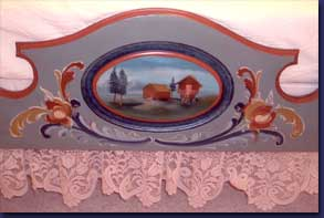 Diane Edwards - Norwegian Bed - Footboard